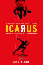 "Icarus Movie Poster 2017 Bryan Fogel Documentary Film Print 13x20"" 24x36"" 32x48"" - $10.88+"
