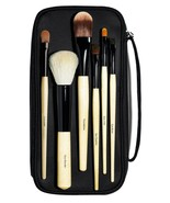 Bobbi Brown THE BASIC BRUSH Collection Make Up Brush Set Black Case 6 PI... - $204.14