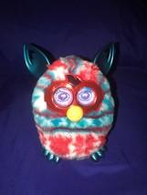 2012 Hasbro Furby Boom Fetstve Holiday Sweater Furby Rare Red White & Blue - $15.75
