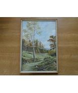 Antique  Fine Art Watercolour By Davy R Clark Country Scene Circa 1908 - $47.02
