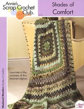 Shades Of Comfort Annie's Scrap Crochet Afghan PATTERN/INSTRUCTIONS New - $3.12
