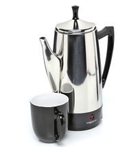 Best Electric Coffee Percolator Stainless Steel Filter 2-12 Cup Machine - $71.27