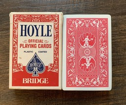 Vintage HOYLE Official Playing Cards Nevada Finish - $4.94