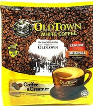 Old Town 2-In-1 Instant Premix Coffee & Creamer White Coffee 15 Sticks x... - $24.26