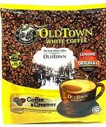 Old Town 2-In-1 Instant Premix Coffee & Creamer White Coffee 15 Sticks x... - $24.26