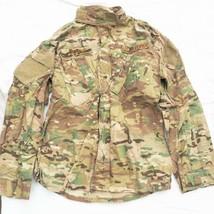 US Air Force NATO Woodland Camouflage Jacket Coat Combat Ripstop Medium Reg - $24.74
