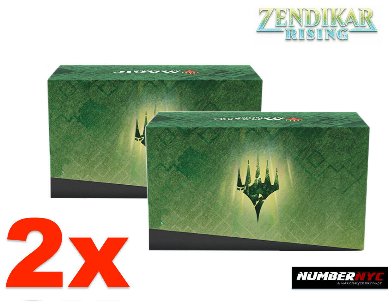 2x MTG Zendikar Rising EMPTY Fat Pack Storage Box Holds Cards Magic Gathering - $19.79