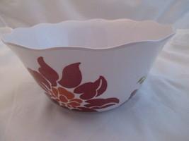 Better Homes & Gardens Melamine Floral Serving Bowl 4 1/2 x 10 - €10,35 EUR