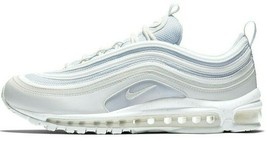 NIKE AIR MAX 97 WHITE/LIGHT BLUE SIZE 10 BRAND NEW FAST SHIPPING (921826-104) image 1