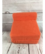 American Girl Doll  - Orange Futon or Folding Chair for Moon & Stars bed... - $19.79
