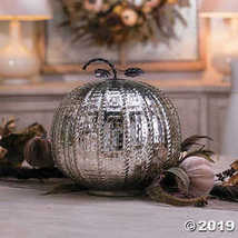 Large Mercury Glass Pumpkin - £21.86 GBP