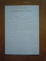 Vintage Hallmark A Special Confirmation Wish Greeting Card - $3.99