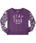 Life is Good Stay True Floral Womens Go-To Sweatshirt (Smoky Plum) (XS (... - $14.84