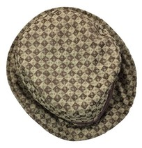 Liz Claiborne Hat Women Bucket Cap Brown One Size Casual - $14.84