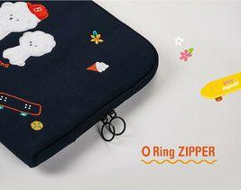 AntenaShop Boucle Bichon iPad Tablet Sleeve Pouch Bag Cover Case Korean Design image 6