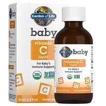 Garden of Life Baby Vitamin C Liquid for Baby's Immune Support, Liquid Vitamin C