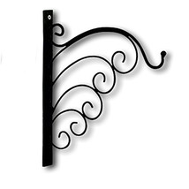 WHW Whole House Worlds French Country Style Wall Hook Bracket, Iron, Scr... - $18.08
