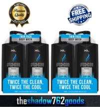 AXE Body Wash for Men Phoenix Clean & Cool Shower Bath 28 oz Pump Bottle 4-Count - $28.46