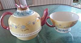 Disney Parks Exclusive Princess Cinderella Tea for One Oversized Pot & Cup - $50.00