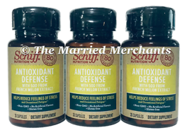 Schiff Antioxidant Defense Sod French Melon Extract 30 capsules 10/2021 ... - $13.99