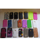 Lot Cell Phone Covers 21 Pieces - $11.99