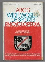 1974 ABC's Wide World of Sports Encyclopedia Paperback Book 2nd Printing - $7.92