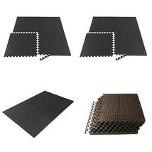 Puzzle Exercise Mat Foam Interlocking Tiles Martial Arts Karate Kink Box... - $29.67