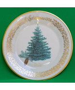 "Beautiful 1978 Lenox 11"" Limited Issue Porcelain Christmas Plate, Blue S... - $3.95"