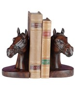Bookends Bookend EQUESTRIAN Traditional Antique Horse Head - $189.00