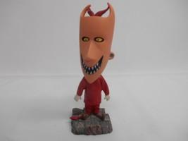 Tim Burtons NIGHTMARE BEFORE CHRISTMAS LOCK BOBBLEHEAD DOLL Nodder Souvenir - $29.69