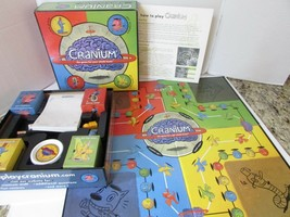 CRANIUM GAME 1998 COMPLETE THE GAME FOR YOUR BRAIN  - $11.99