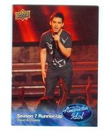 David Archuleta trading card (Singer) 2009 Upper Deck American Idol #008 - $4.00