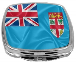 Rikki Knight Fiji Flag Compact Mirror Flag Design NEW - $12.00