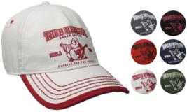 True Religion Men's Cotton Buddha World Tour Baseball Trucker Hat Cap TR1988