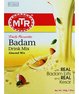 MTR  Badam Drink Mix  200 Gm  Almond Mix  With Real Almond Bits & Kesar - $10.46