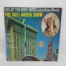 Live At The Mint Hotel Suzi Arden Show Record M-S-771 Clásico LP Firmado... - $133.36