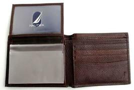 Nautica Men's Premium Leather Credit Card Id Passcase Wallet Billfold 31Nu22X030 image 7