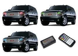 for GMC Yukon 01-06 RGB Multi Color M7 LED Halo kit for Headlights - $159.19