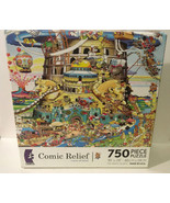 Ceaco Comic Relief Tower of Babel 750 Pc Jigsaw Puzzle 24x18 2978-3 - $11.29