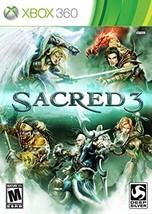 Sacred 3 - Xbox 360 [video game] - $9.89