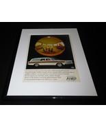 1965 Ford Wagon Framed 11x14 ORIGINAL Vintage Advertisement - $41.71