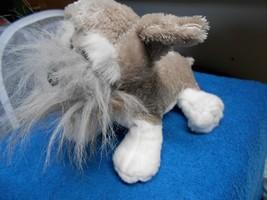 Webkinz Ganz  Plush Dog Puppy Stuffed Animal Toy Schnauzer - $3.50