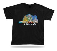 chennai marina beach kapaleeshwarar temple St Thomas Cathedral Basilica tshirt - $7.57