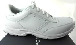 ROCKPORT VICTORY ROAD MEN'S WHITE WALKING SNEAKERS SZ 7.5, K56666 - $77.90