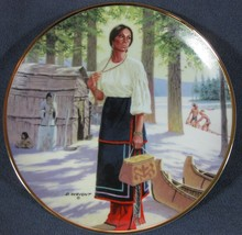 Lily Of The Mohawks David Wright Noble American Indian Women Collector P... - $31.97