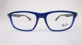RayBan RB7055 5393 Optical Frame Dark Blue Eyeglasses Oversized - $56.06