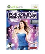 Karaoke Revolution Xbox 360 Disc and Case With Artwork ONLY No Manual or... - $9.85
