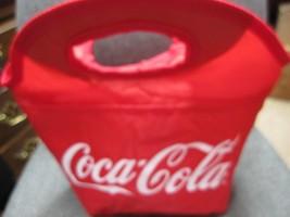 Coca Cola Vinyl  Clutch Lunch Cooler - - $10.88