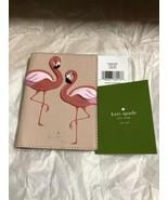KATE SPADE by the pool Flamingos Passport Holder WLRU 5484 NWWT Retail $119 - $37.23