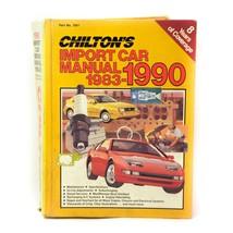 Chilton's Import Car Manual 1983-1990 - Home Mechanic Shop Manual 7901 - $34.62